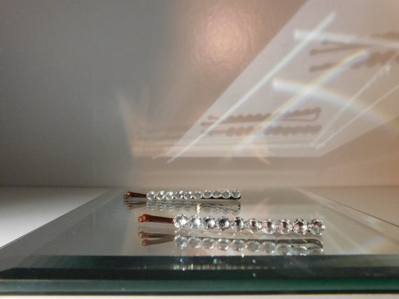Swarovski Crystal Hair Pins