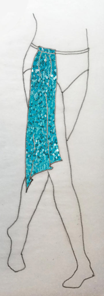 ReShapable Looks Add-On Sash Sequins