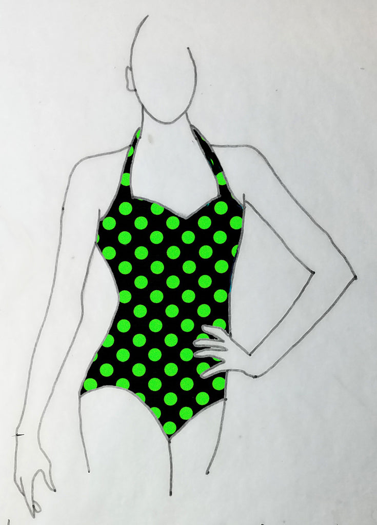ReShapable Looks Halter Leotard Prints