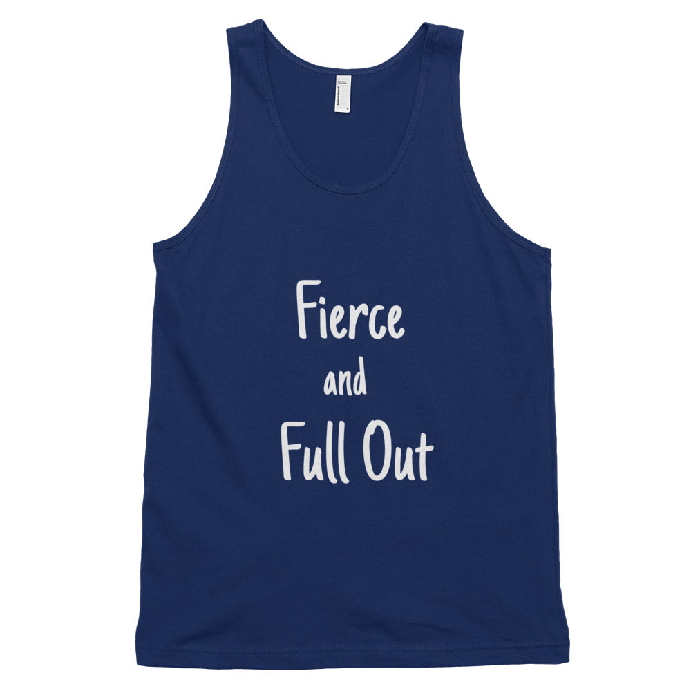 "Men's ""Fierce and Full Out"" Tank Top"