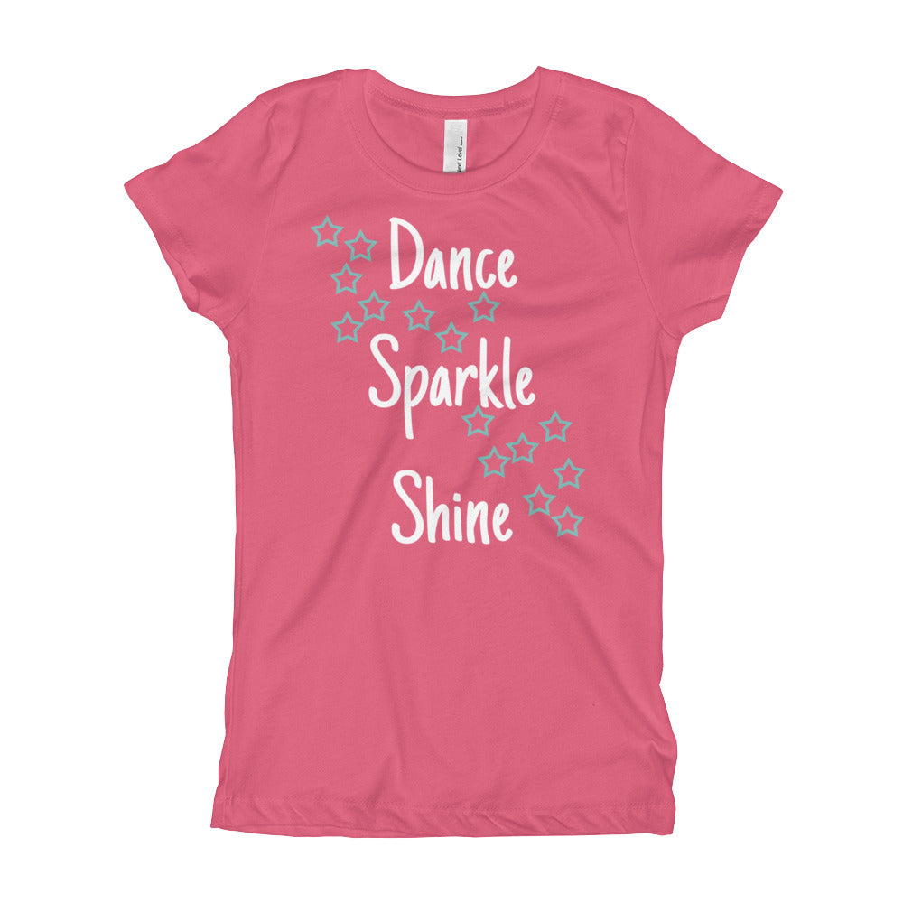 "Girl's ""Dance Sparkle Shine"" Tee"