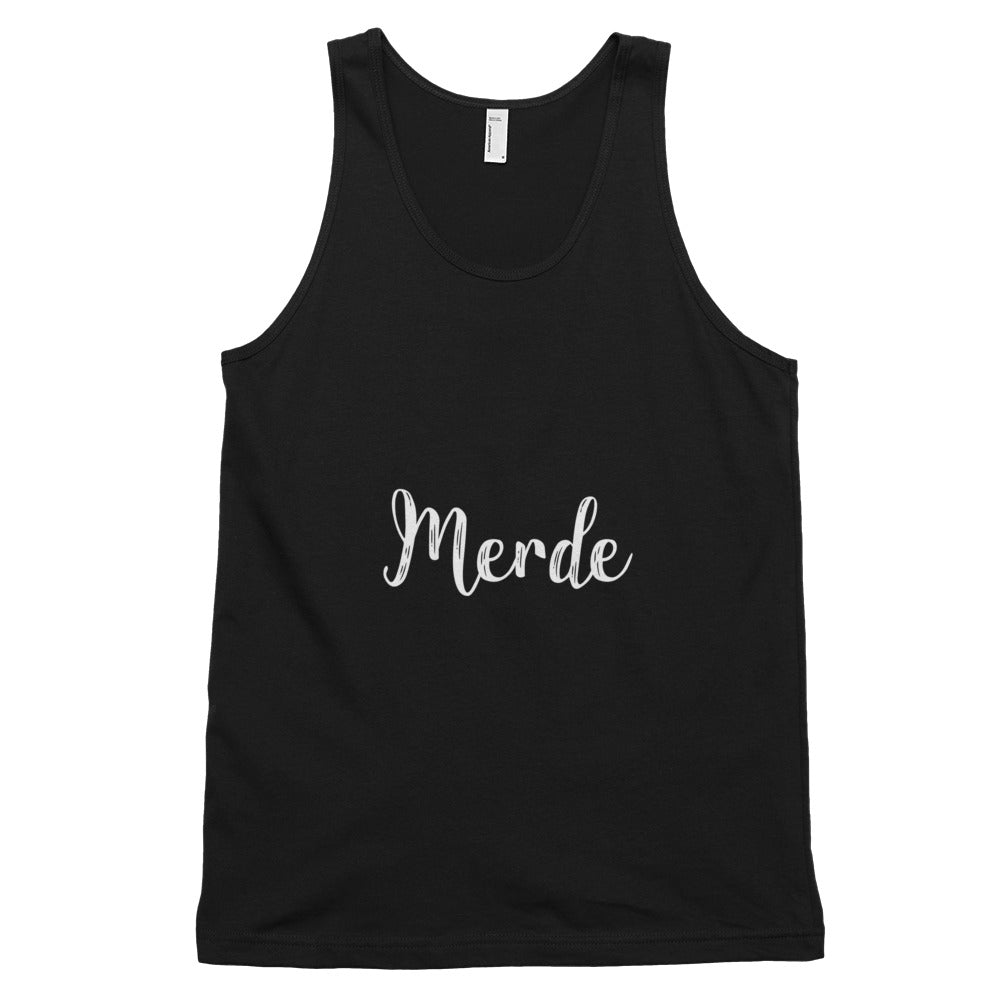 "Men's ""Merde"" Tank Top"