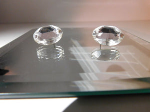 Swarovski Crystal Oval Earrings
