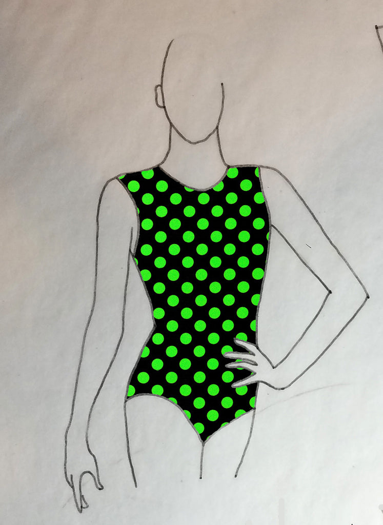 ReShapable Looks Keyhole Leotard Prints