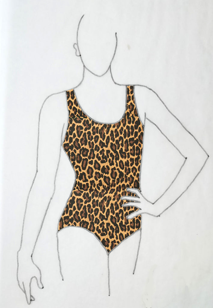ReShapable Looks Tank Leotard Prints