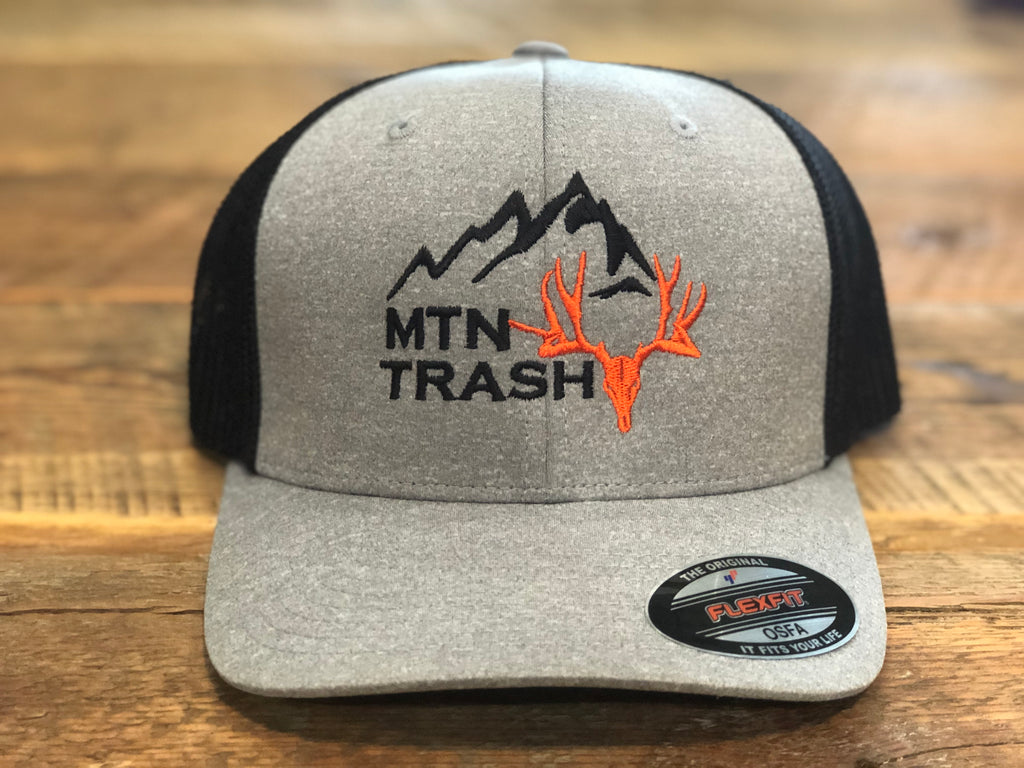 Flexfit Heather Grey Mtn Muley