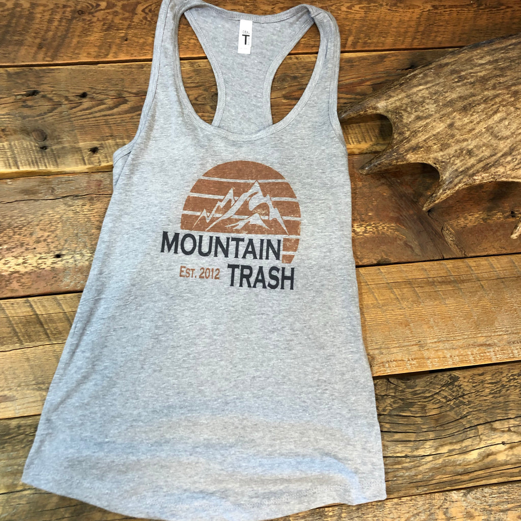 Heather Grey Sunset Tank