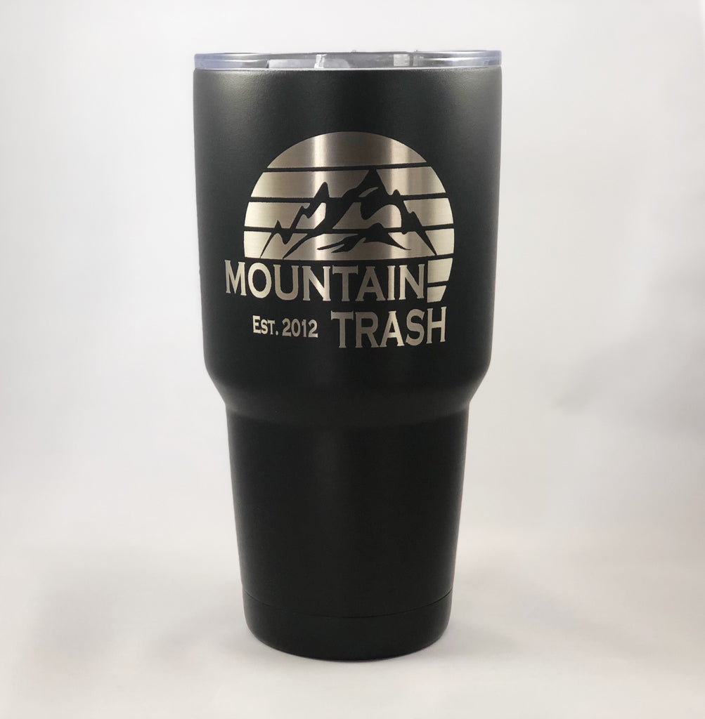 Mountain Sunset Tumbler