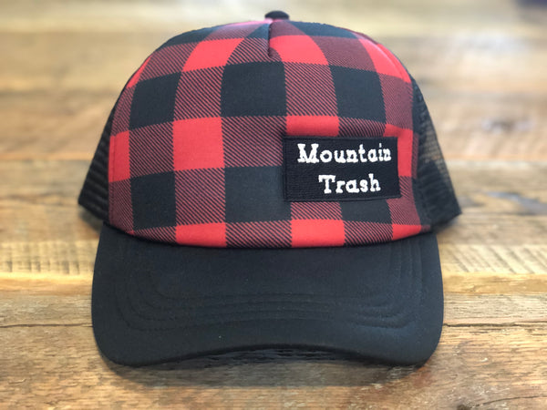 Buffalo Plaid Foamie Trucker