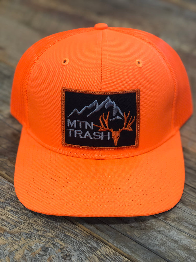 Hunter Orange Muley Patch