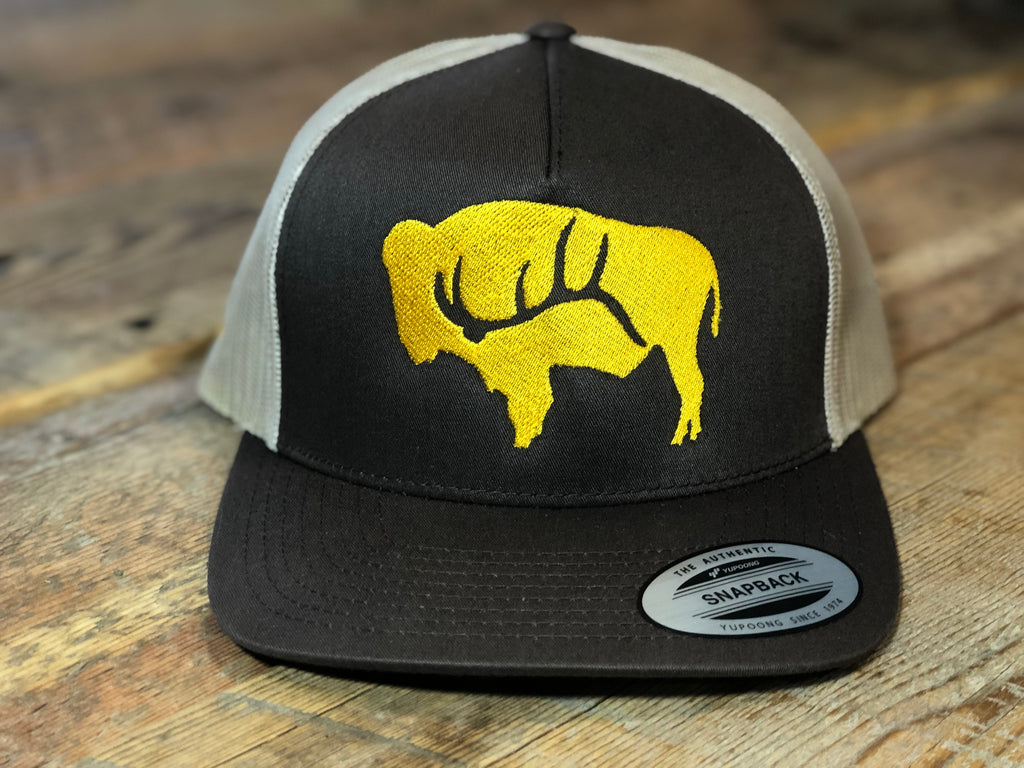 Brown and Gold Bison Shed
