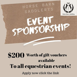 EVENT SPONSORSHIP - APPLY NOW!