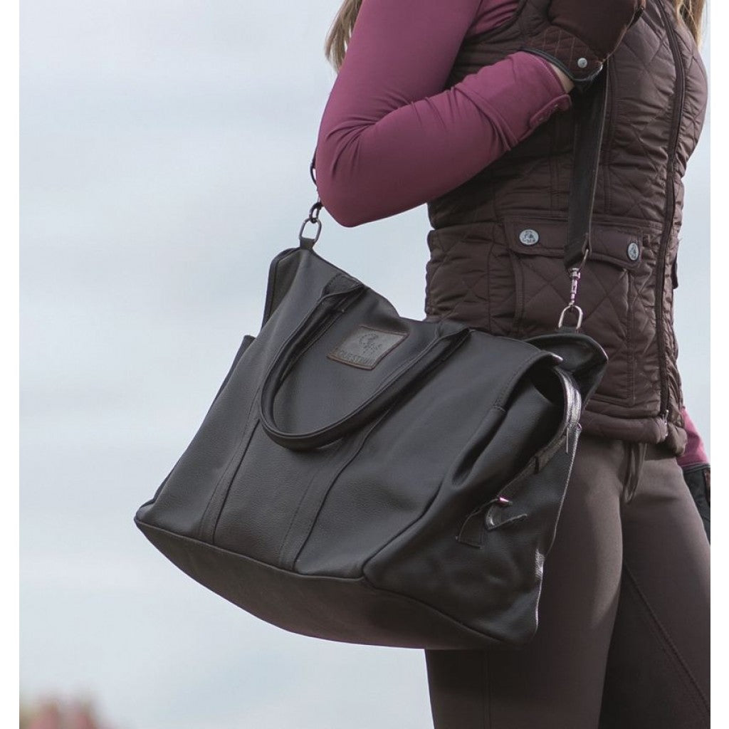 CM Velluto Leather Carry Bag