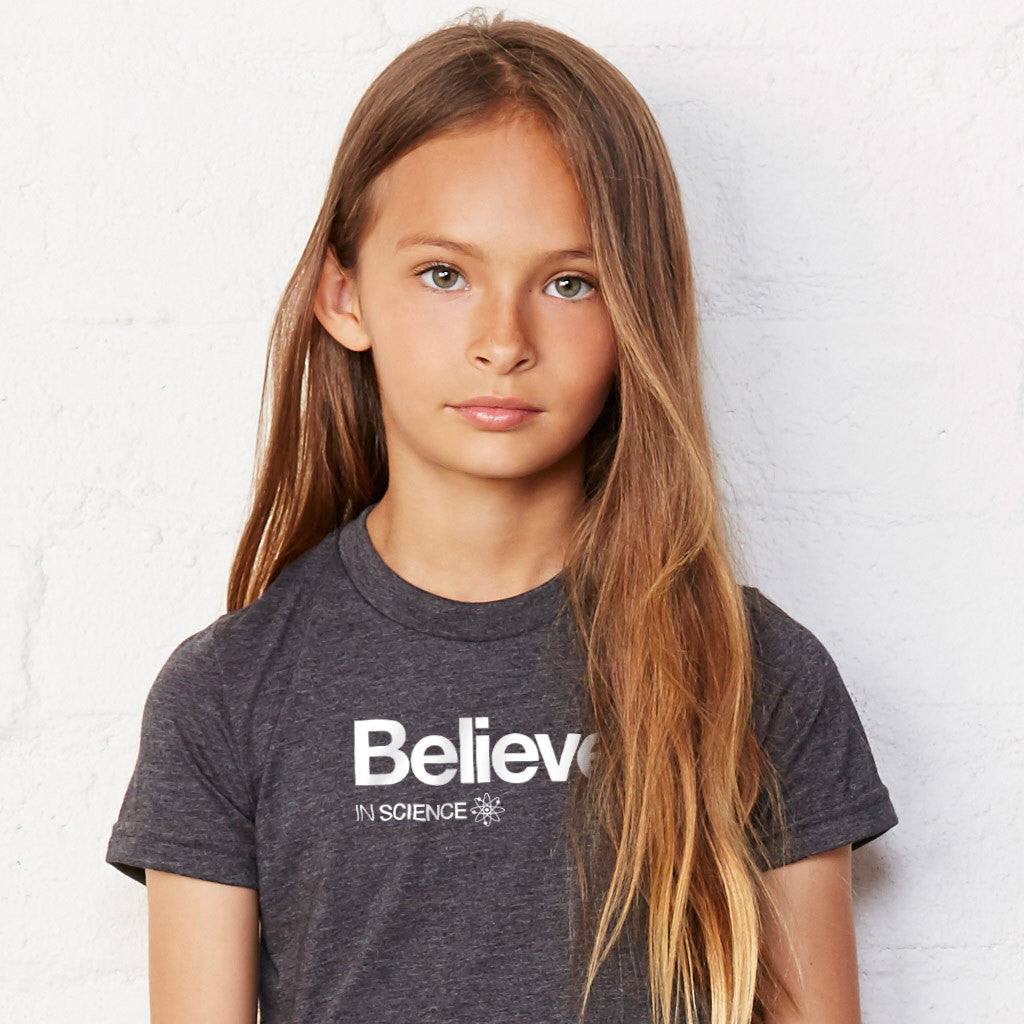 Believe in Science Unisex Children's T-shirt - Progresswear