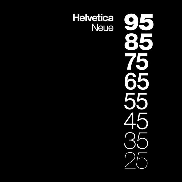 From TypographyShop: Helvetica Neue Descending a Unisex T-shirt