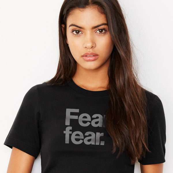 Fear fear. Progressive Unisex T-Shirt from Progresswear.com