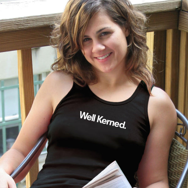 From TypographyShop: Well Kerned Unisex T-shirt