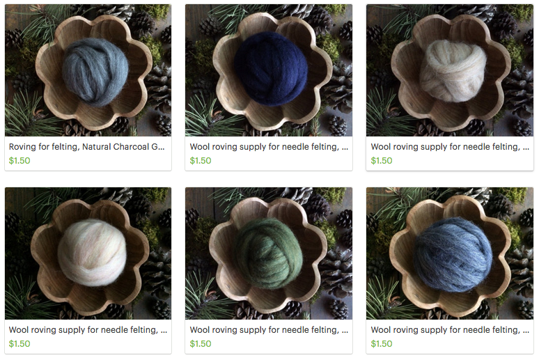 Did You Know? House of Moss Sells Wool Roving So You Can DIY!