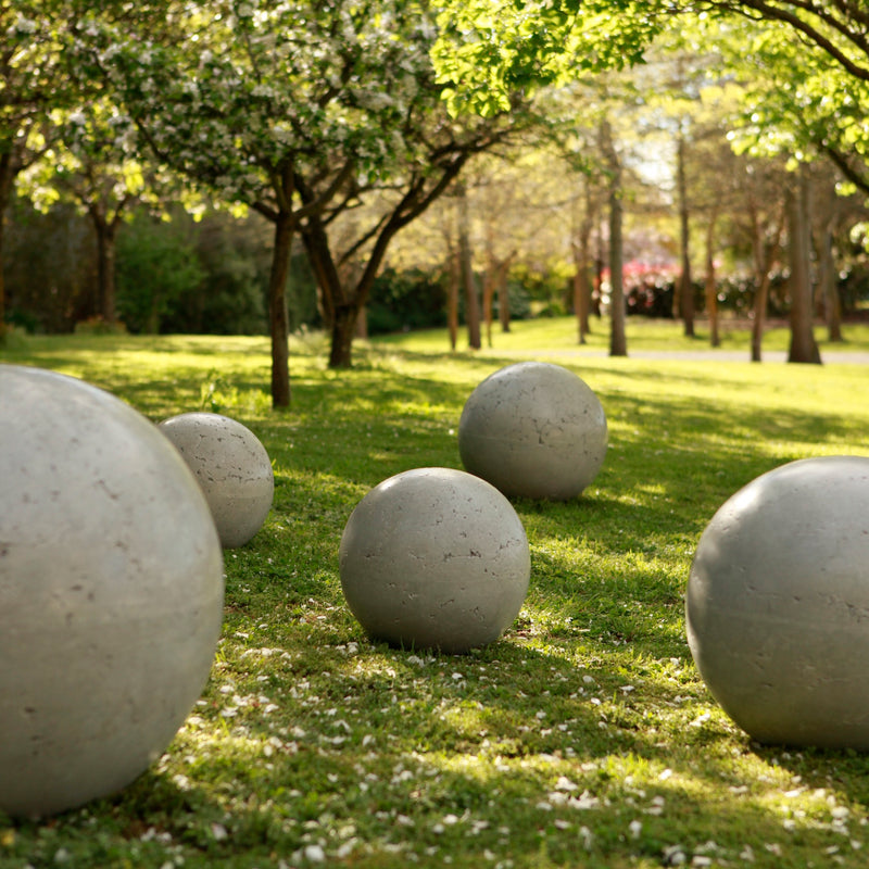 Spheres, Boulders, Garden Globes, Garden Balls, Garden Art, Concrete Garden Balls, Landscape Design, Sculpture, NZ Homes & Gardens, NZ Made, Locally Made