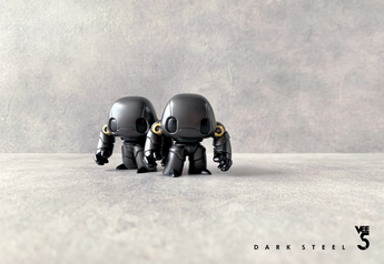 VEE5 CHIBI - DARK STEEL