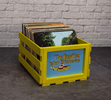 Crosley AC1004A-NA Record Storage Crate Holds up to 75 Albums, Natural - Awesomesince84