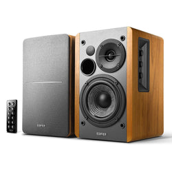 Powered Bluetooth Bookshelf Speakers - Awesomesince84