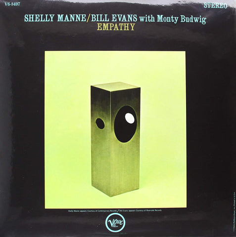 Shelly Manne / Bill Evans With Monty Budwig ‎– Empathy