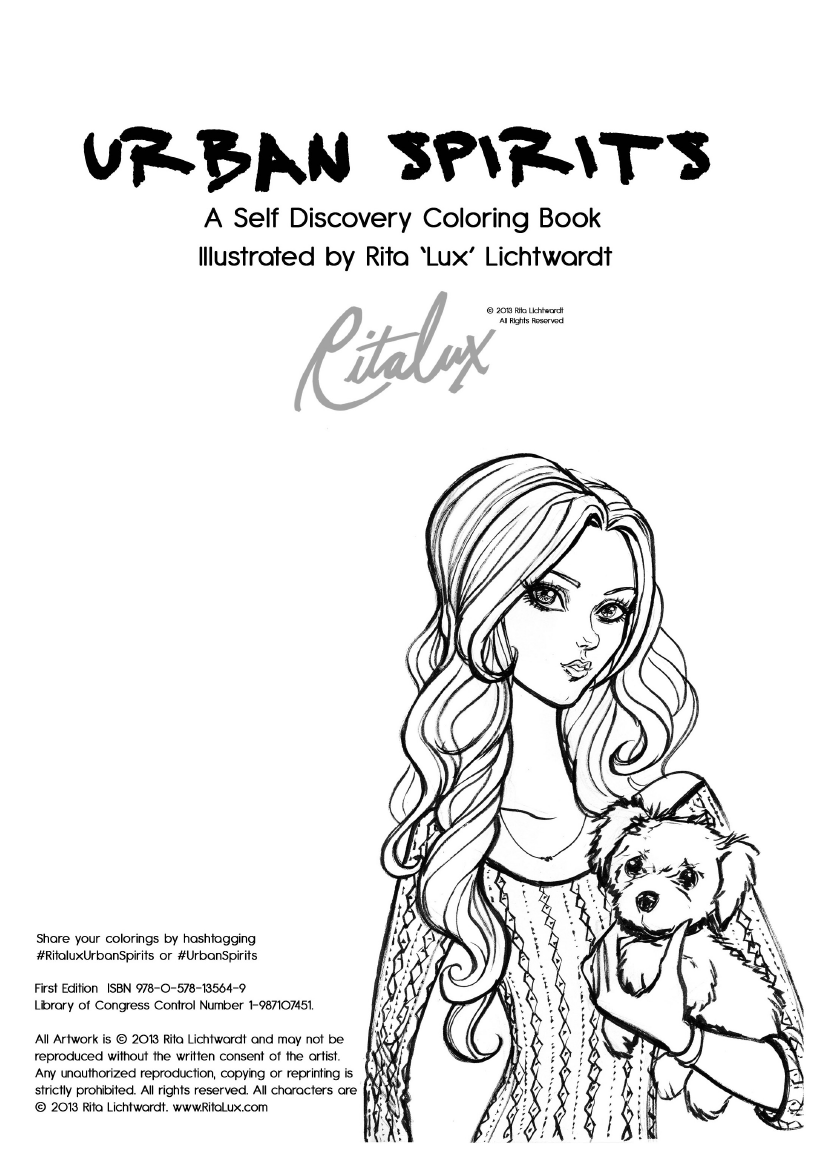 - Urban Spirits - A Self Discovery Coloring Book Free PDF Download