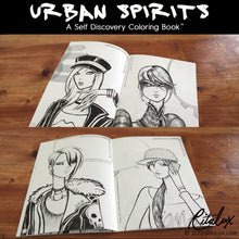 Urban Spirits - A Self Discovery Coloring Book by RitaLux Physical Book
