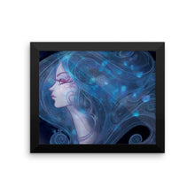 Poignant Rose Dark Framed Print