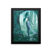 """Jungle Fairy"" Framed Print"