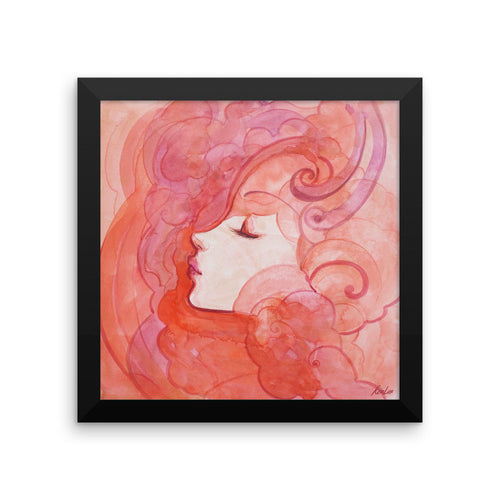 Orange Dream Framed Print