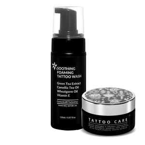 Special Offer Soothing Foaming Tattoo Wash and Large Tattoo Aftercare