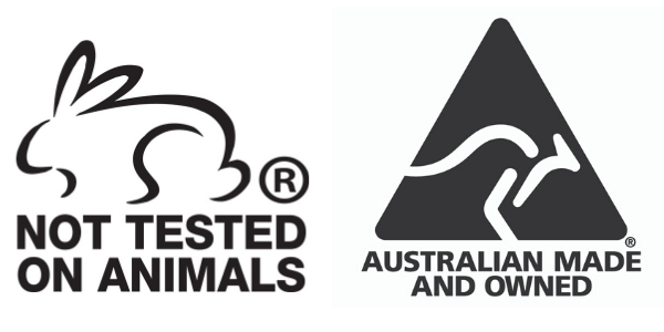 We are Licensed by Australian Made & Choose Cruelty Free