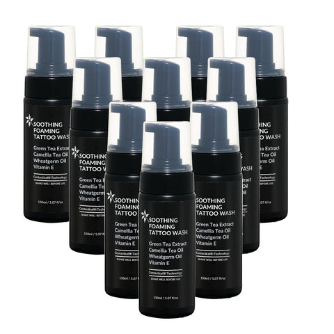 SOOTHING FOAMING TATTOO WASH 150ml