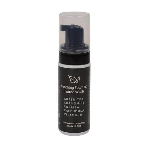 SOOTHING FOAMING TATTOO WASH 50ML SIZE