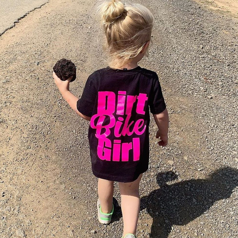 Dirt Bike Girl Tee