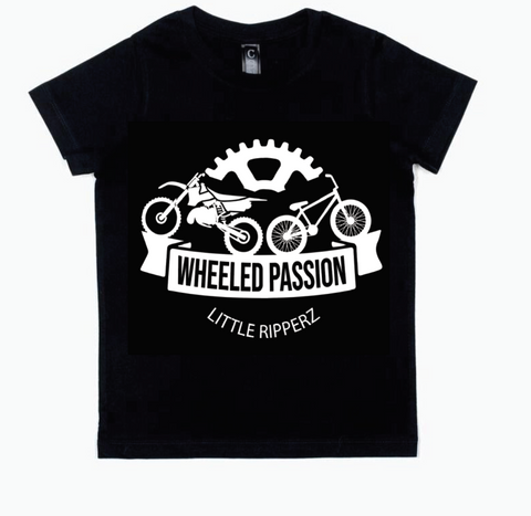 Wheeled Passion Tee