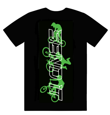 Send It black tee - BMX