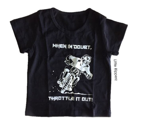 Throttle It Out Tee