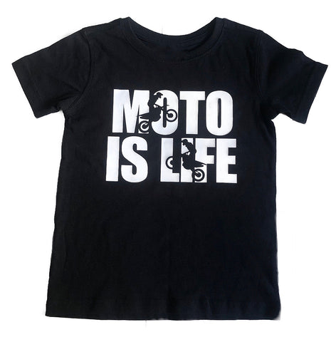 Moto is Life Tee - NEW