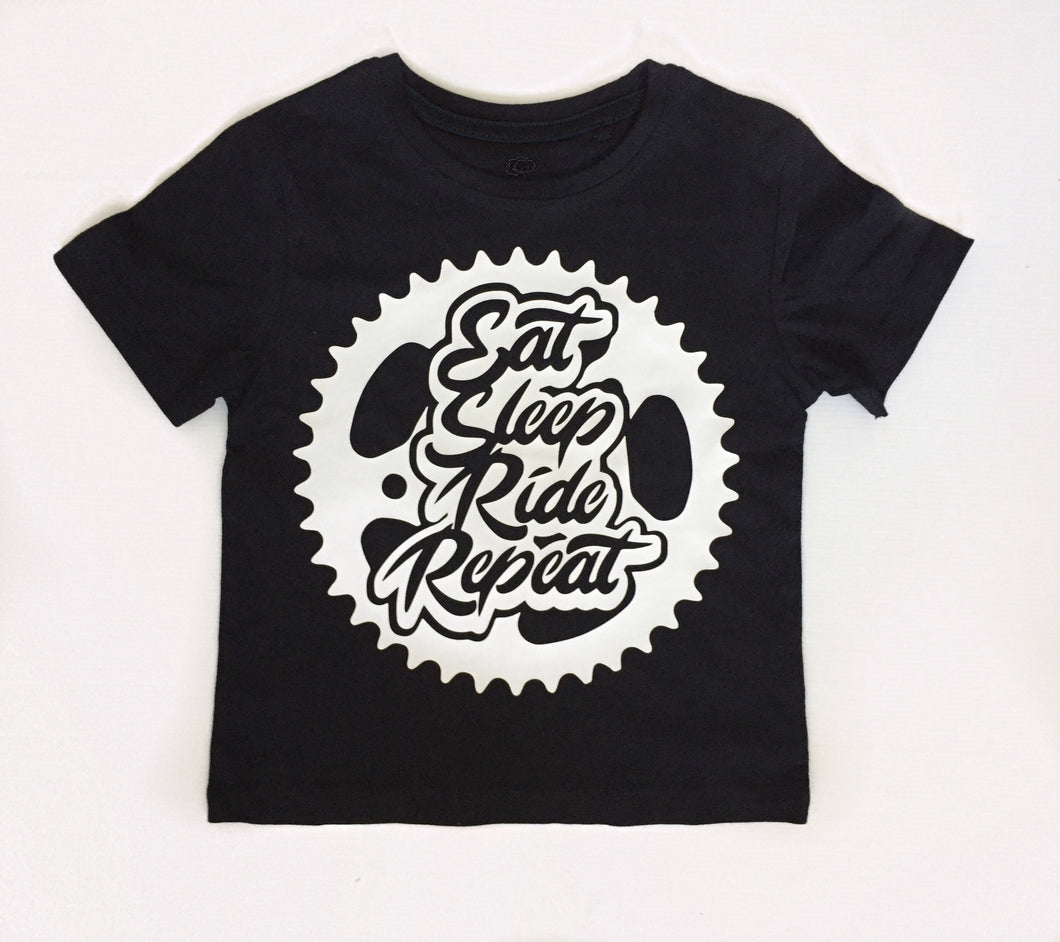 Eat sleep ride repeat tee