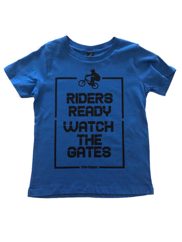 Riders Ready, Watch the Gates tee