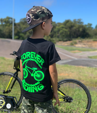 Forever Riding tee - BMX