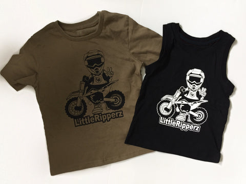 Dirt Bike Rider Tee (Other colours)