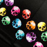 French Terry Kid's Rapport Geo Skulls