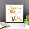 Entry Queen Framed poster for Trader's Wall