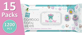 *24x Bamboo Wet Wipes With Honeysuckle Extract (80 Pieces)