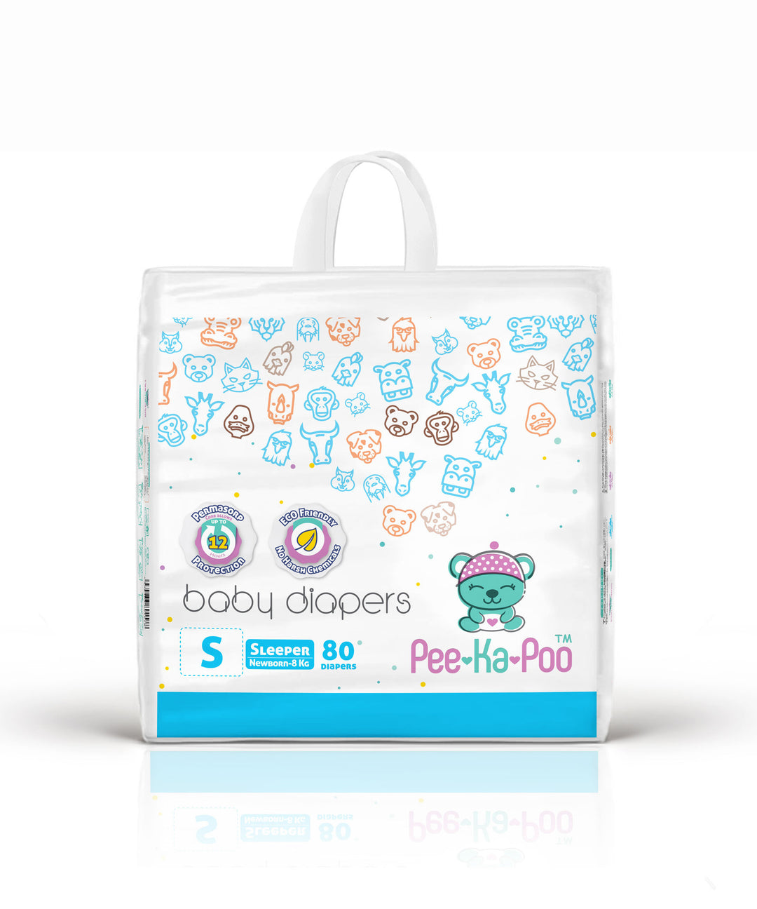 Taped Diapers Sleeper S 5kg - 8kg (80 Pieces)