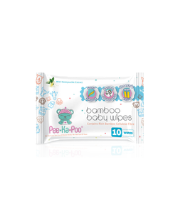 Bamboo Wet Wipes With Honeysuckle Extract (10 Pieces)